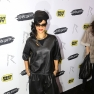 Rihanna looks striking at her 'Unapologetic' album launch at Best Buy in NYC