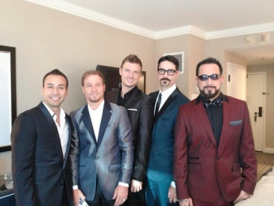 Backstreet Boys 2012 suits