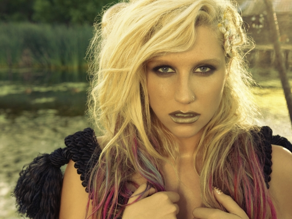 Ke$ha Die Young Warrior Promo Photo