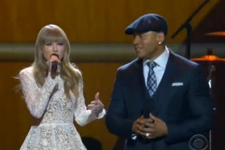"Taylor Swift & LL Cool J Beatbox ""Mean"" At The Grammy Nominations Concert: Watch All The Performances"