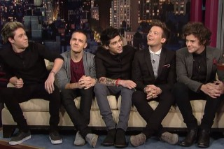 One Direction Chat With David Letterman, Who Clearly Knows Nothing About Them (Or Music)