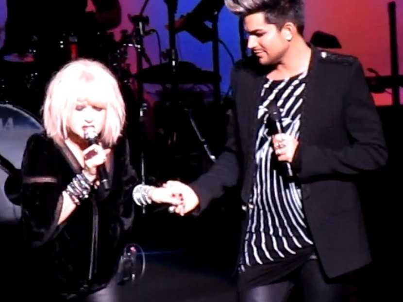 "Adam Lambert & Cyndi Lauper – ""Mad World"""