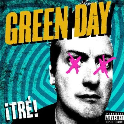 Green Day Tre album cover