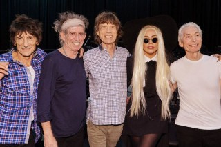 Lady Gaga And Rolling Stones Spend The Night Together