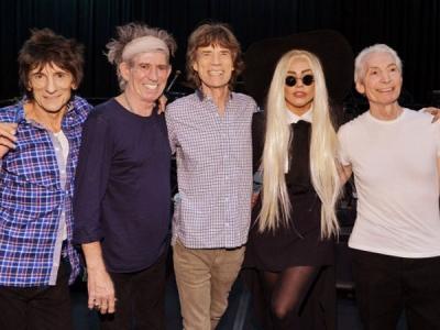 Lady Gaga Rolling Stones