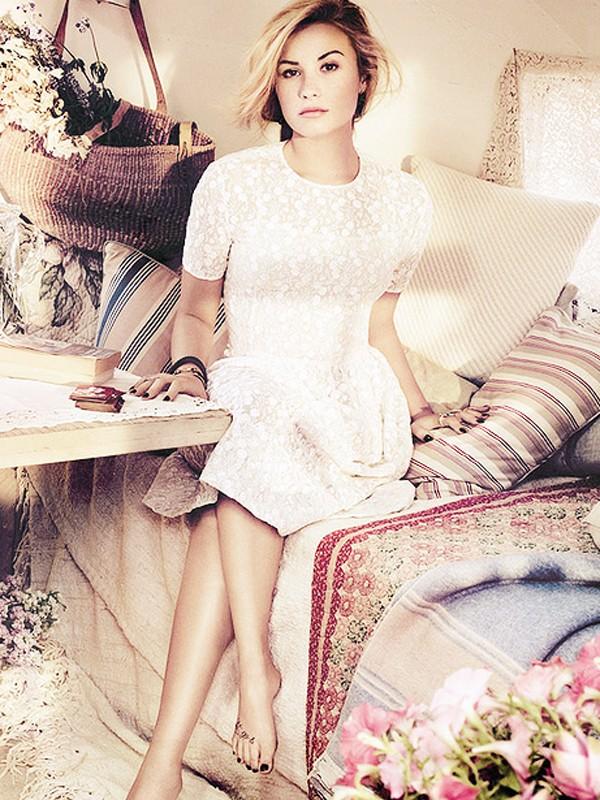 Demi Lovato   s Hottest Pics Of 2012Demi Lovato Teen Vogue Photoshoot