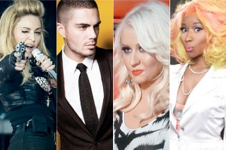 The 5 Best Pop Feuds Of 2012: From Christina Aguilera Vs. The Wanted To Lady Gaga Vs. Madonna