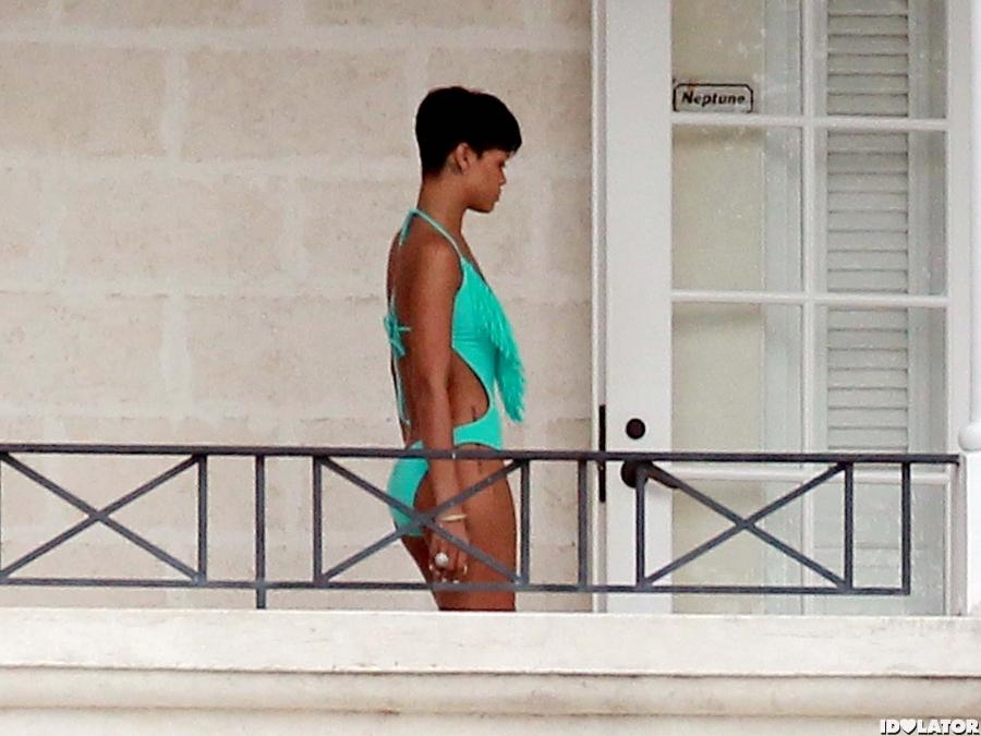 Rihanna Is Back In Barbados