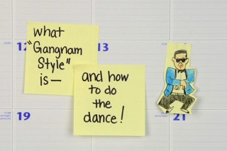 2012: The Year In Review — Watch It All On Post-It Notes!