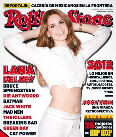 Lana Del Rey Rolling Stone Mexico January 2013 Cover