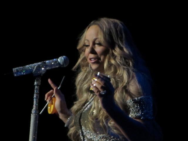 Mariah Carey Sydney concert 2013 tour 3