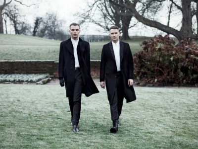 Hurts Exile 2013 promo photo Theo Hutchcraft