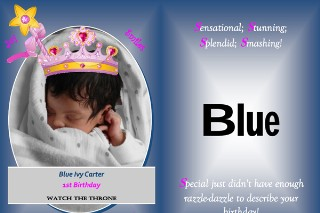 Happy Birthday, Blue Ivy Carter: See Our Favorite Fan-Made B-Day Cards!