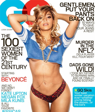 Beyonce GQ Cover Full