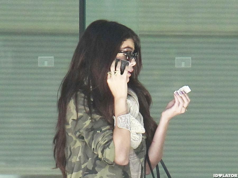 Selena Gomez At CAA