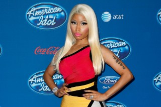 Nicki Minaj Attends 'American Idol' Premiere Screening In A Dress That Leaves Little To The Imagination