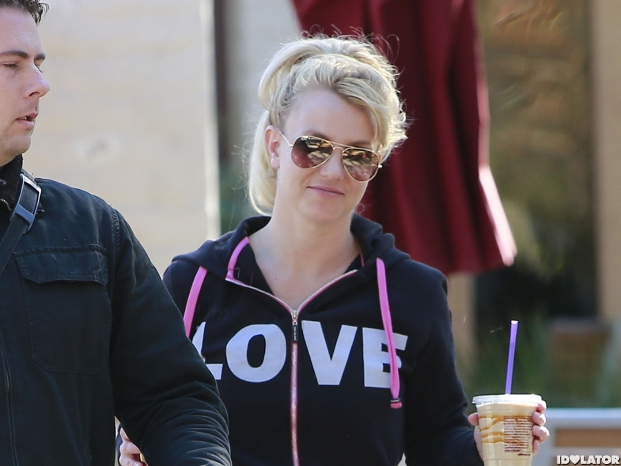 Britney Wears Her Heart On Her, Uh, Sleeve