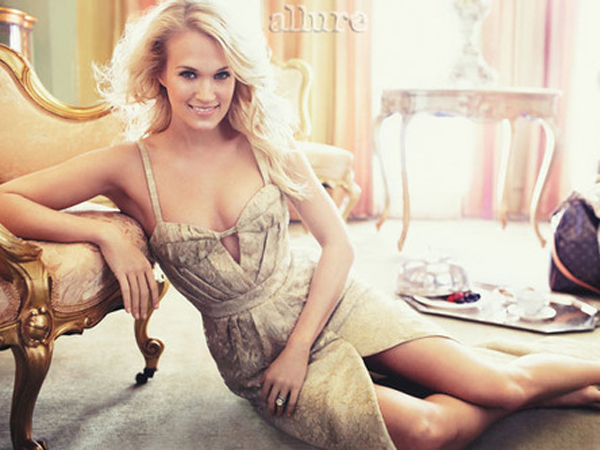 Carrie Underwood Is 'Allure'-ing