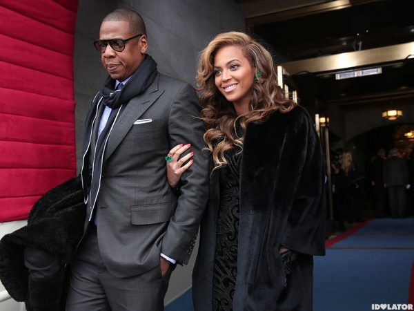 Beyonce & Jay-Z Attend The 2013 Presidential Inauguration