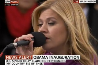 Kelly Clarkson Sings At President Barack Obama's Inauguration: Watch