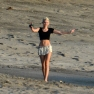 Exclusive - Miley Cyrus Takes A Stroll On The Beach In Costa Rica