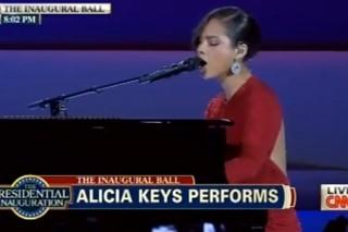 Alicia Keys, Jennifer Hudson, Fun. Perform At President Obama's Inaugural Ball: Watch