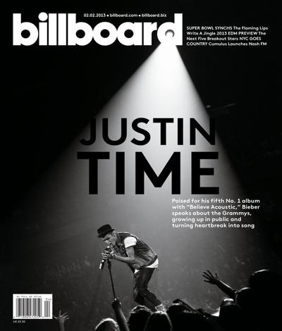 Bieber Billboard Cover