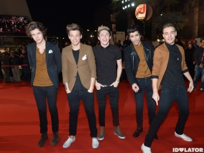 One Direction NRJ Music Awards 2013