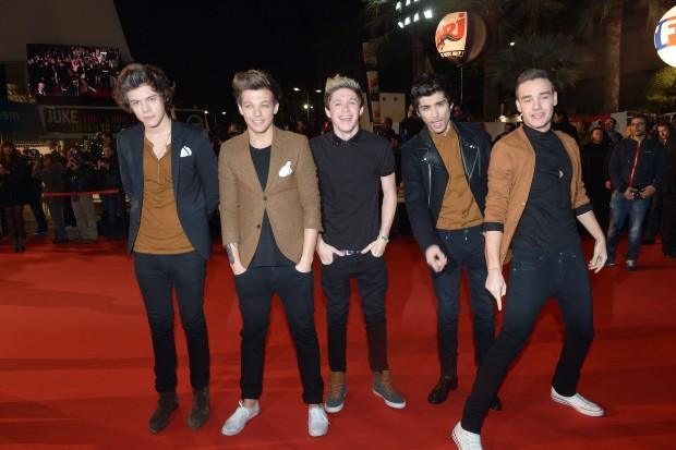 One Direction NRJ Music Awards 2013