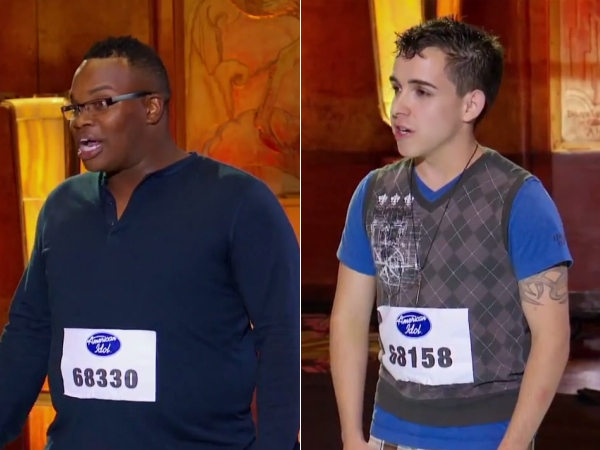 Micah Johnson Matheus Fernandes American Idol 2013 audition