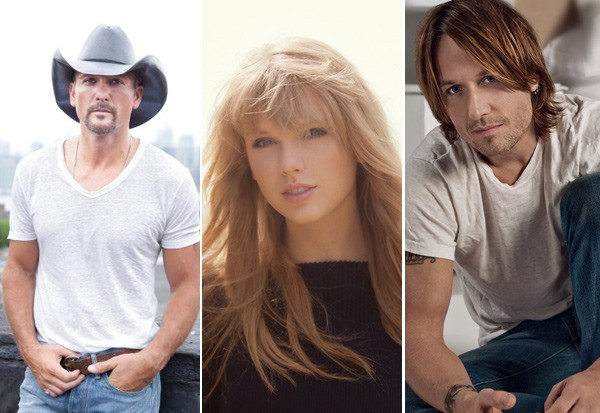 Tim McGraw Taylor Swift & Keith Urban