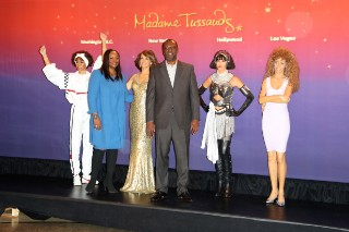 Whitney Houston, Immortalized By Madame Tussauds Wax Museum