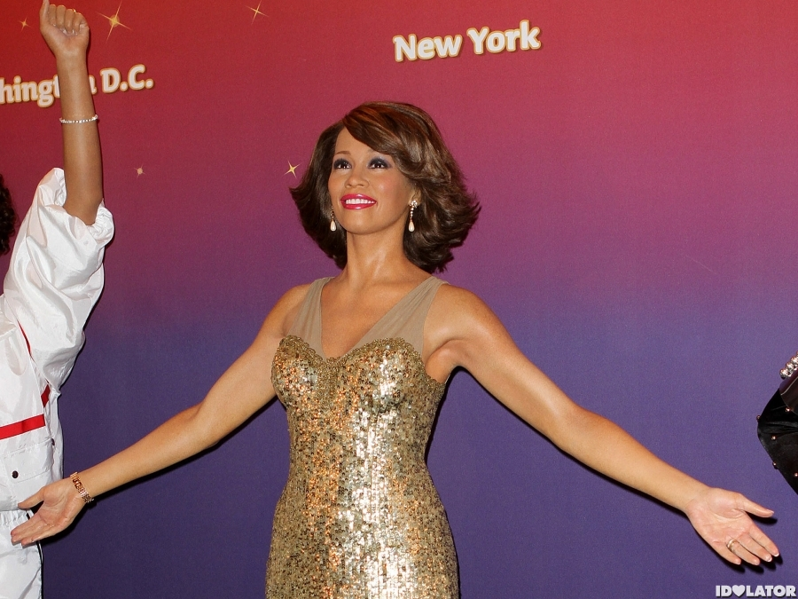 Whitney Remembered In Wax