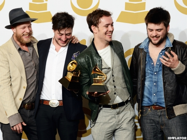 mumford and sons grammy win