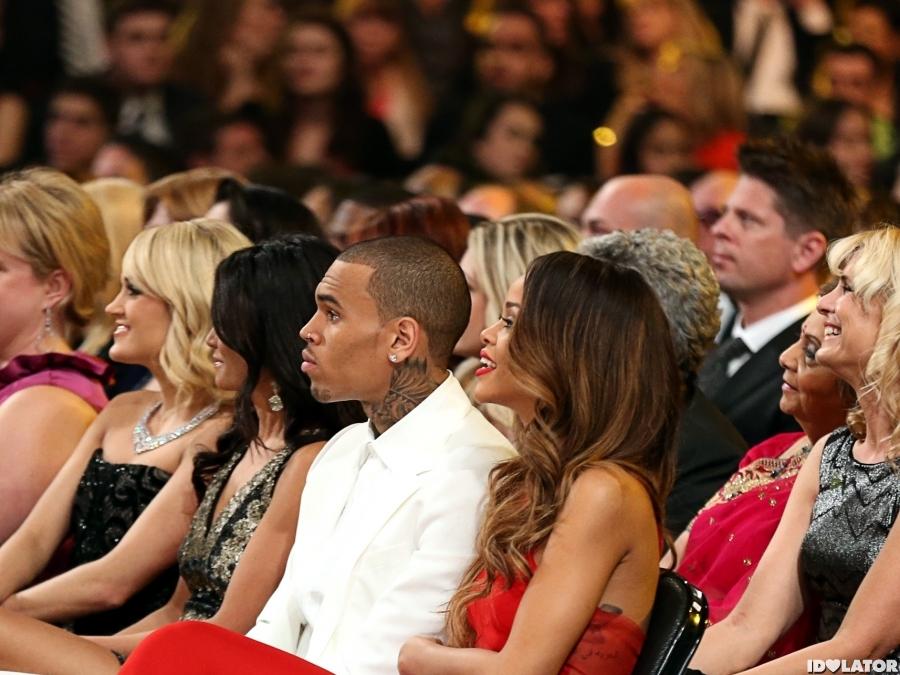 Grammys: Rihanna: 2013 Grammy Red Carpet