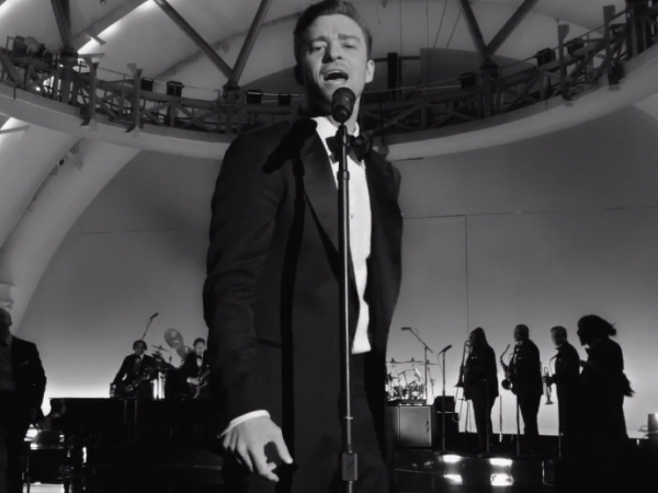 justin timberlake suit and tie video