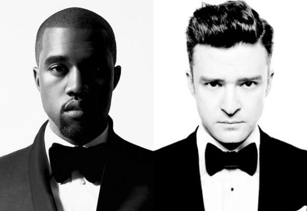 Kanye West Justin Timberlake Suit Tie 1