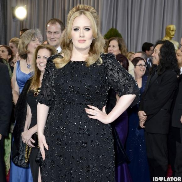 Adele: Academy Awards 2013 Red Carpet