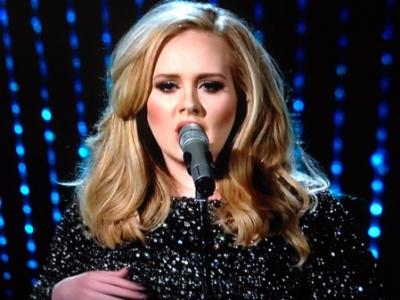 "Oscars 2013: Adele Performs James Bond Theme ""Skyfall,"" Wins Best Original Song"