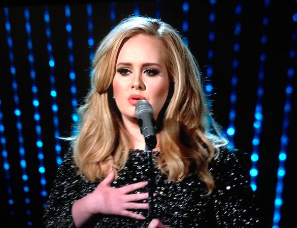 Adele Oscars Academy Awards Skyfall 2013 James Bond