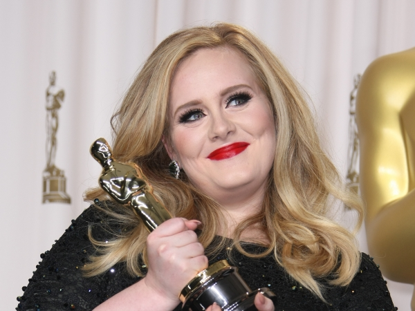 85th Annual Academy Awards - Press Room adele