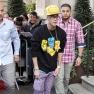 Justin Bieber Makes An Interesting Fashion Statement