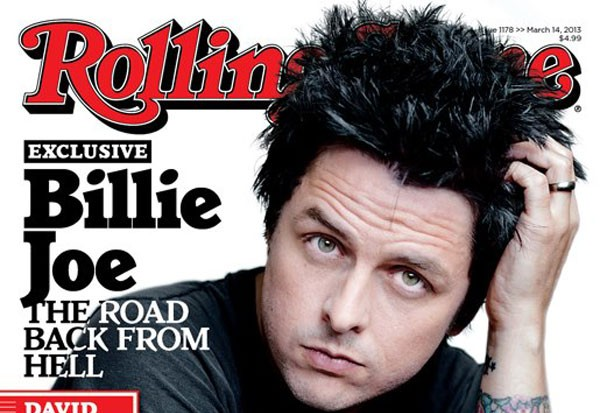 Billie Joe Armstrong Rolling Stone Cover Rehab