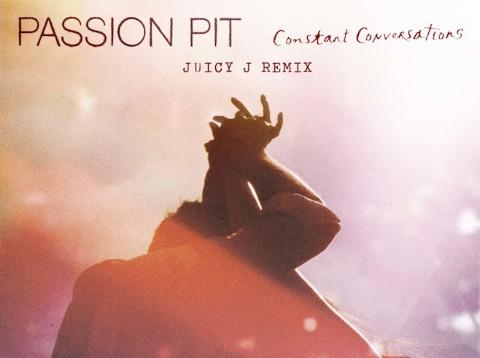 Juicy J Remixes Passion Pit's &#822