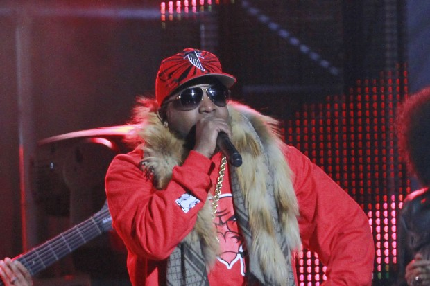 "Big Boi Performs On ""Jimmy Kimmel Live"""