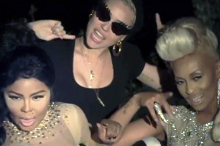 "Miley Cyrus Makes A Cameo In Tiffany Foxx & Lil Kim's Sexy ""Twisted"" Video: Watch"