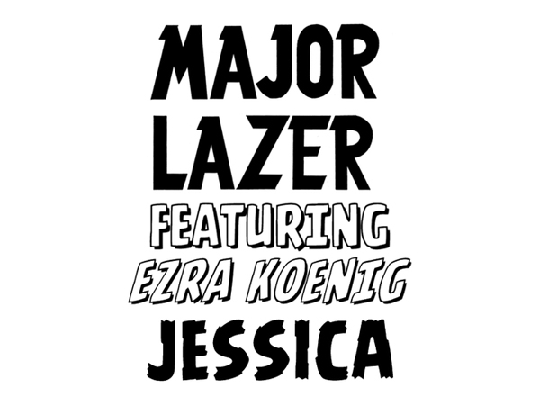 major lazer jessica