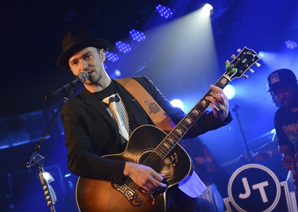 Justin Timberlake's MySpace Secret Show At SXSW 2013
