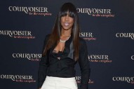 Kelly Rowland Takes The Stage At Courvoisier's Courvoisiology Party