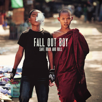 fall out boy save rock and roll cover